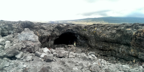 Big Island Lava Tunnel, Hawaii
