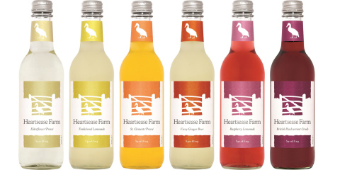 Heartsease Farm Sparkling Soft Drinks